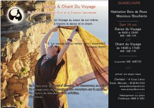 stage danse du Voyage en Guadeloupe oct 17