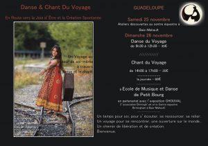 stage danse& chant du Voyage Guadeloupe Nov 17 Petit Bourg+ birmingham