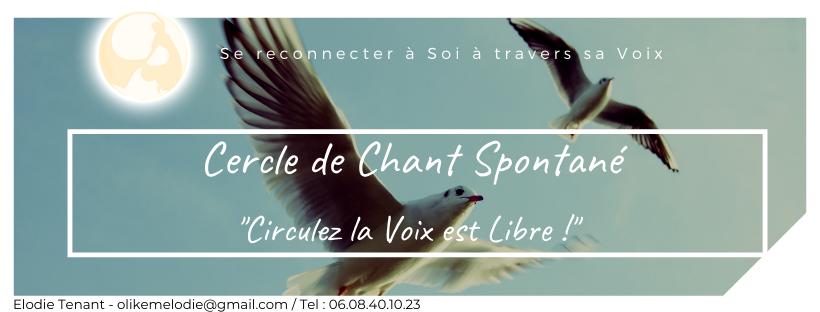 cercle chant spontané