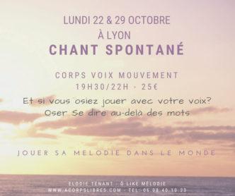 2 atelier chant spontané lundi soir lyon