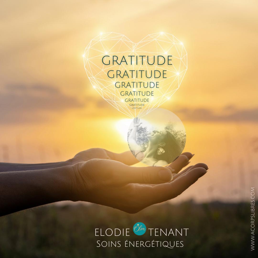 soins énergétiques gratitude