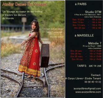 stage danse du Voyage Paris &Marseille 4